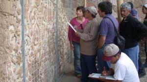 UNT y Patronato Huacas Moche juntos en curso de tratamiento de frisos en adobe