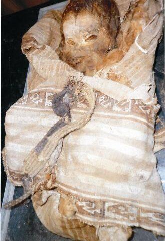 Exhibirán momia de niño de Vichama en museo comunitario del distrito de Végueta, Huaura, Lima