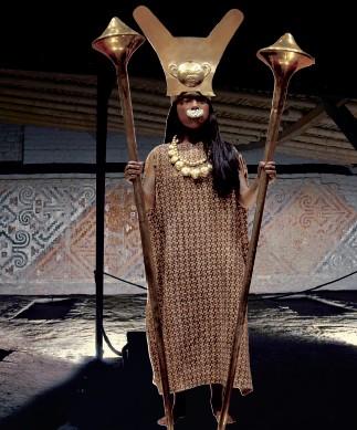 """La Señora de Cao: Una """"dama de hierro""""  en el Perú prehispánico"""