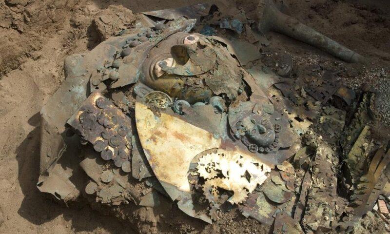 """La tumba del """"Señor de Úcupe"""", un señor Moche que murió 500 a.C."""