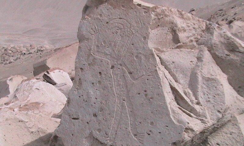 Toro Muerto; de petroglifos y dinosaurios