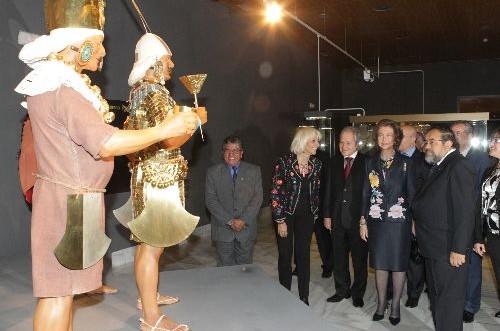 España: inauguran exposición Tesoros Preincaicos de la Cultura Mochica