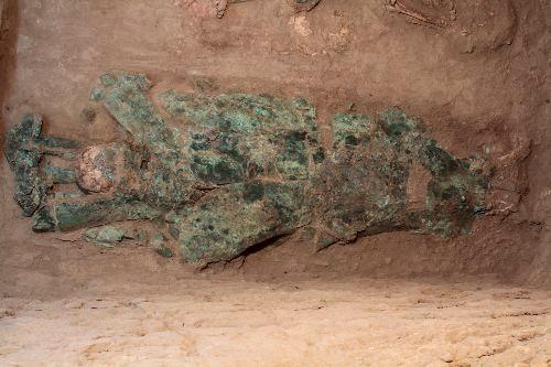 Guerrero del Pututo de Sipán vistió como un caballero medieval y tendría parentesco con el Señor de Sipán
