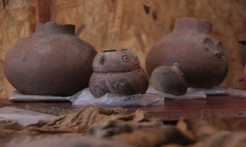 Hallan tumbas de pescadores de 200 A.C. en Huanchaco, Trujillo, Perú