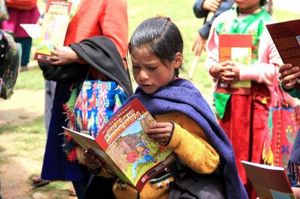 Escolares de la Libertad, Perú conocen sobre su patrimonio arqueológico con historietas