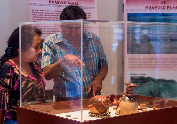 Éxito de público en exposición organizada en Huánuco por el proyecto Qhapaq Ñan