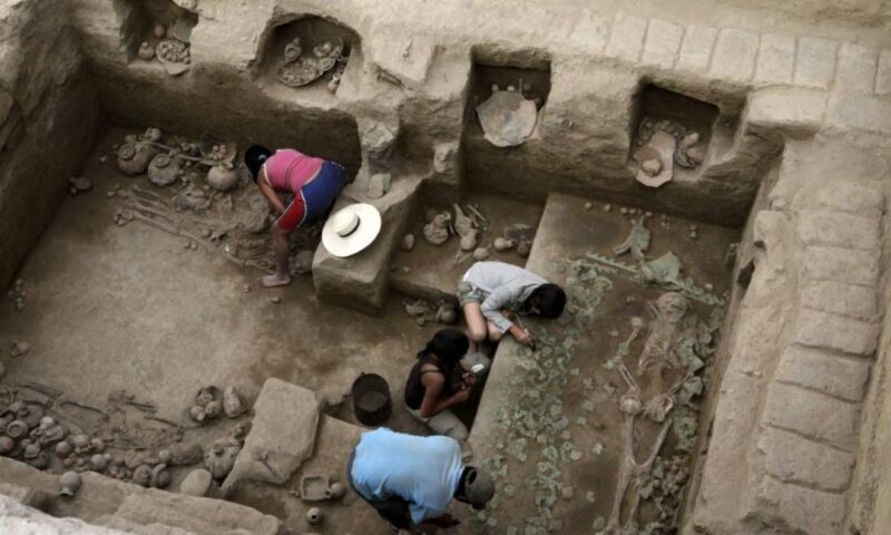 El descubrimiento de la tumba de una sacerdotisa Moche en San José de Moro