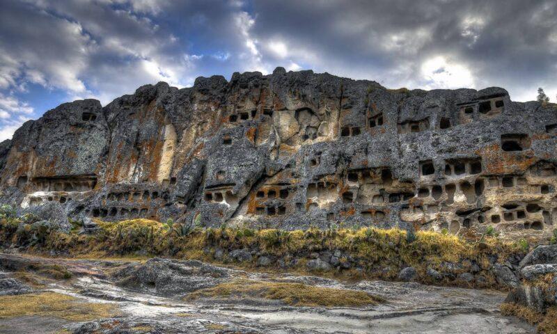 Ventanillas de Otuzco; narrando historias de la Cultura Caxamarca