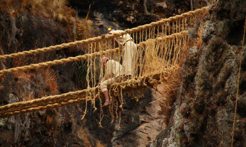 Costumbres en renovación del puente Q'eswachaka son declarados Patrimonio Cultural Inmaterial de la Humanidad