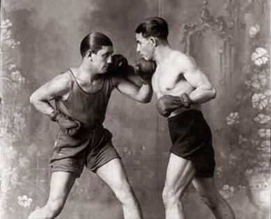 Martin-Chambi-Boxeadores-en-el-Estudio
