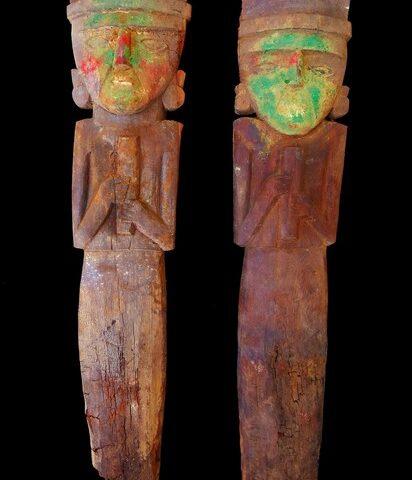 Hallan una tumba de nobleza Chimú con instrumentos musicales en Samanco, Ancash