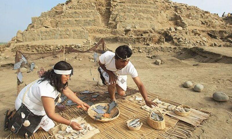 Complejo arqueológico de Áspero revela pasado pesquero de Caral