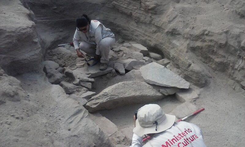 El Ministerio de Cultura informa de importantes hallazgos en el Sector I de la huaca Monterrey, en Ate Vitarte