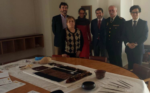 Peru recovers 22 artifacts from Spain
