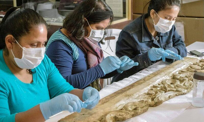 Pobladores de Huaytará participaron en primer curso de conservación, restauración y montaje de materiales arqueológicos