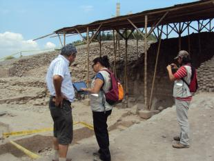 Ministry of Culture of Peru use Smart Pads for archaeological inspections
