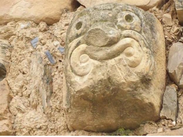 Hallaron dos cabezas clavas en comunidad de Chaupimarca, Pasco