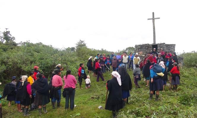 Con apoyo de comunidad se realiza limpieza de sitio arqueológico Ollape