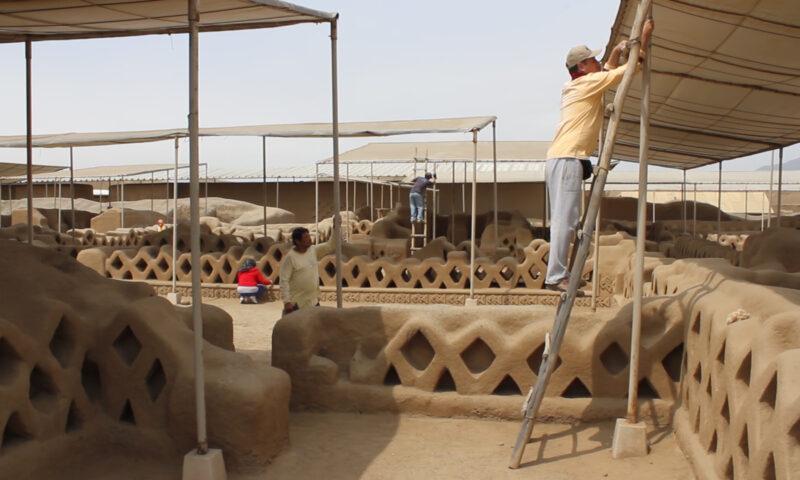 Sitios arqueológicos de la costa norte del Perú se encuentran protegidos ante el evento de El Niño