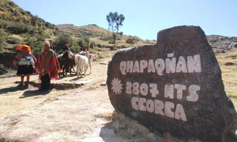 Muestran recuperación del Qhapaq Ñan como atracción turística en Cusco