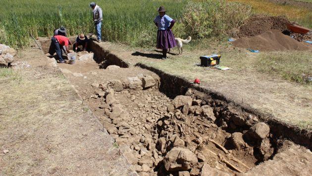 Hallaron complejo inca en el distrito de Huachis, provincia de Huari