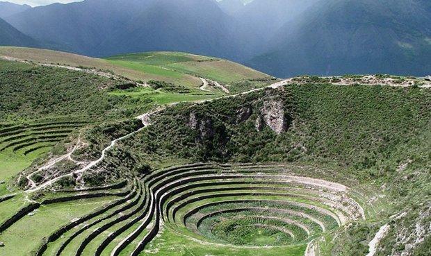 Andenes de Moray en Cusco. ¿Tiene origen cósmico?