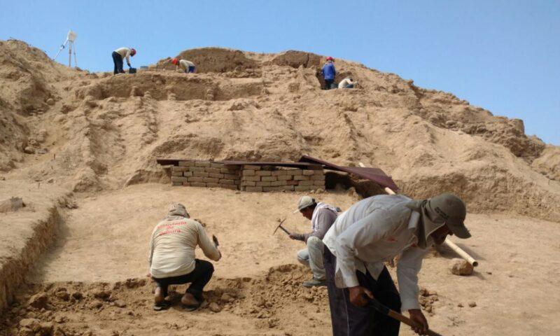 Reinician estudio arqueológico en el complejo Túcume