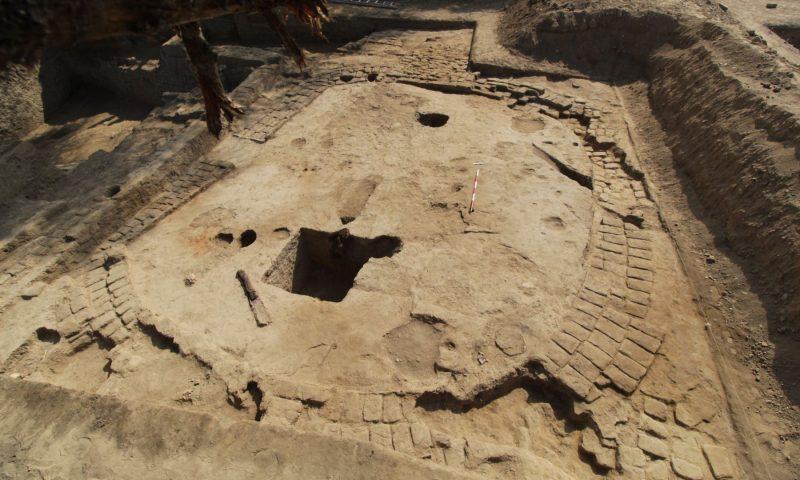 Descubren recinto ceremonial de cultura Wari en Lambayeque, Peru
