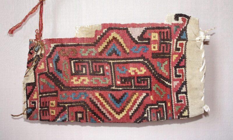 Huaca Melena: hallan textiles con finos acabados de la Cultura Wari