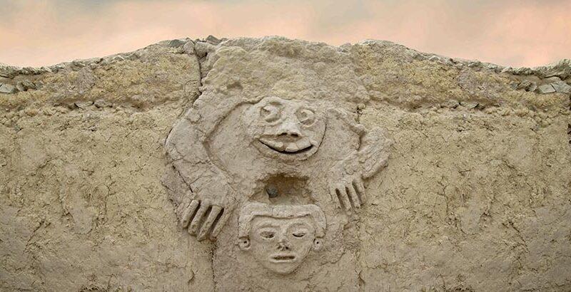 Nuevos hallazgos en Caral:  Significado simbólico sobre cambio climático
