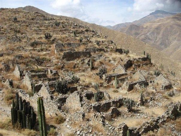 El Pueblo Viejo de Omas, Yauyos, Lima